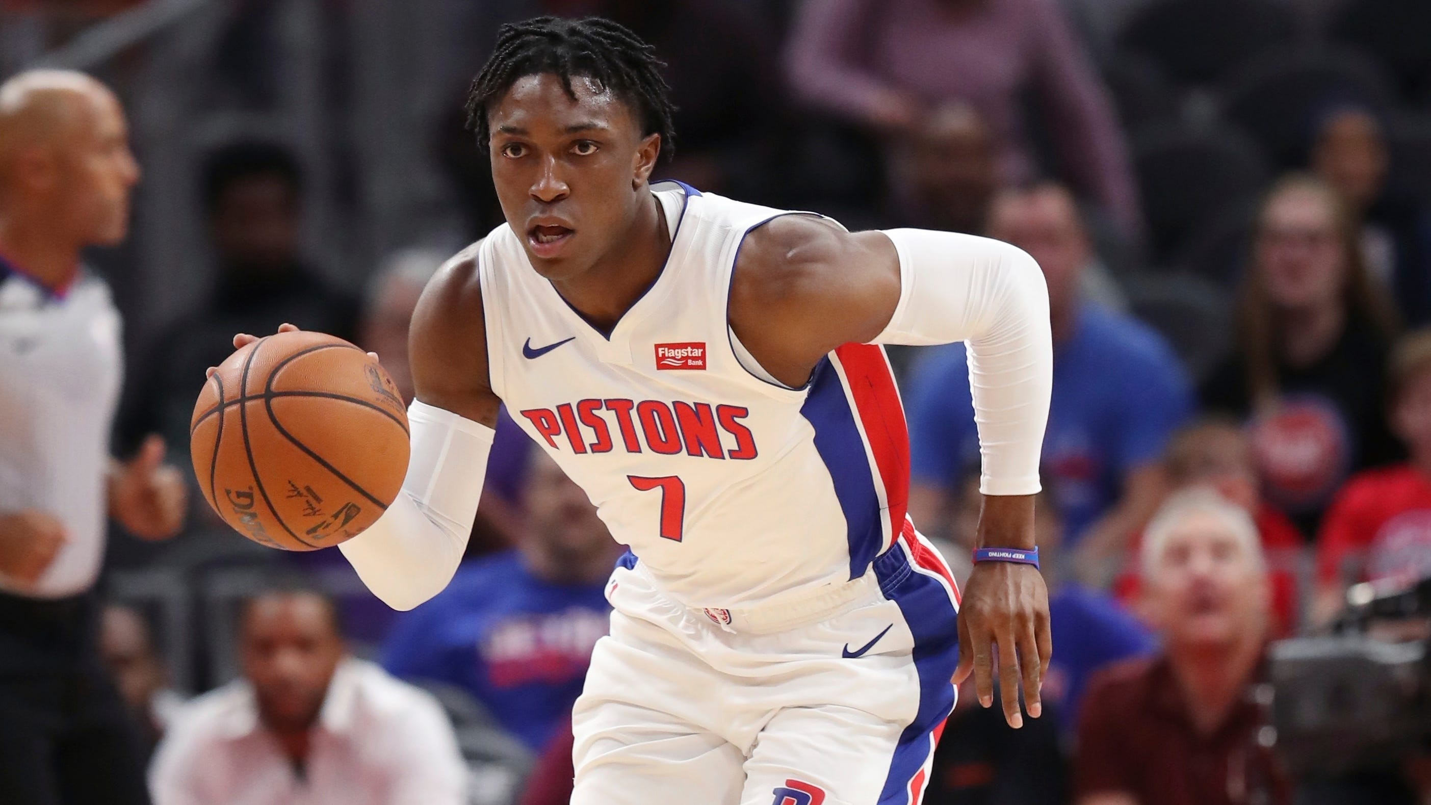 Stanley Johnson out for Pistons' opener with sore toe