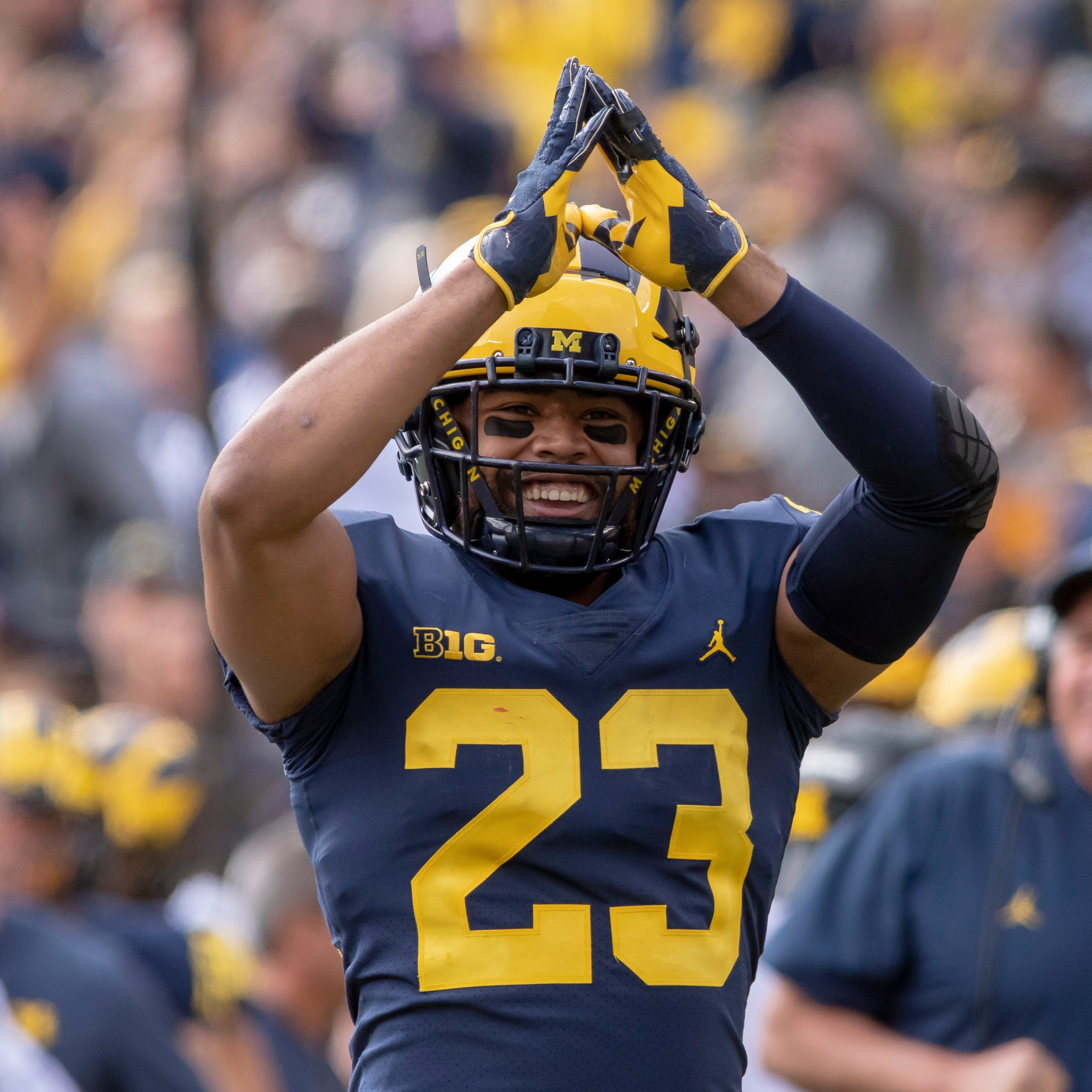 Captains inspire Wolverines with Spartans classic