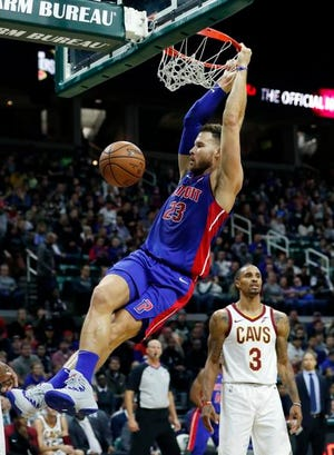 Blake Griffin hopes no one is laughing at the Pistons when the spring rolls around.