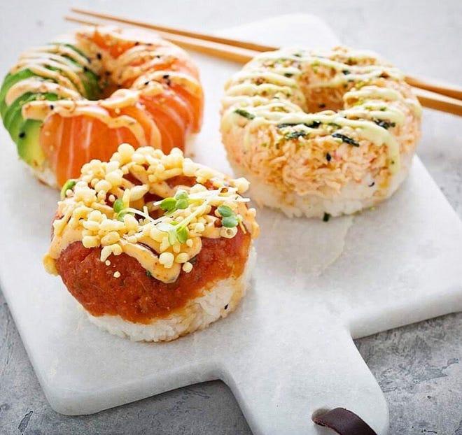 Poke Burri is bringing doughnut-shaped sushi to Detroit.