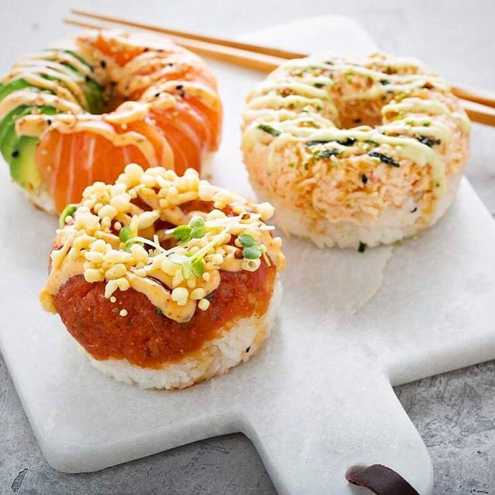 Atlanta-based Poke Burri bringing pizza- and doughnut-shaped sushi to Detroit