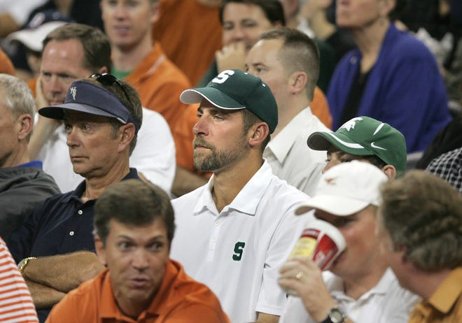 Hall-of-Fame pitcher John Smoltz, a Michigan State fan, is excited for this week's rivalry game.