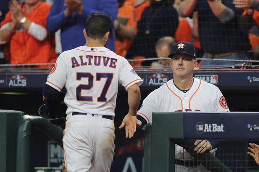 League Championship Series Boston Red Sox V Houston Astros Game Three