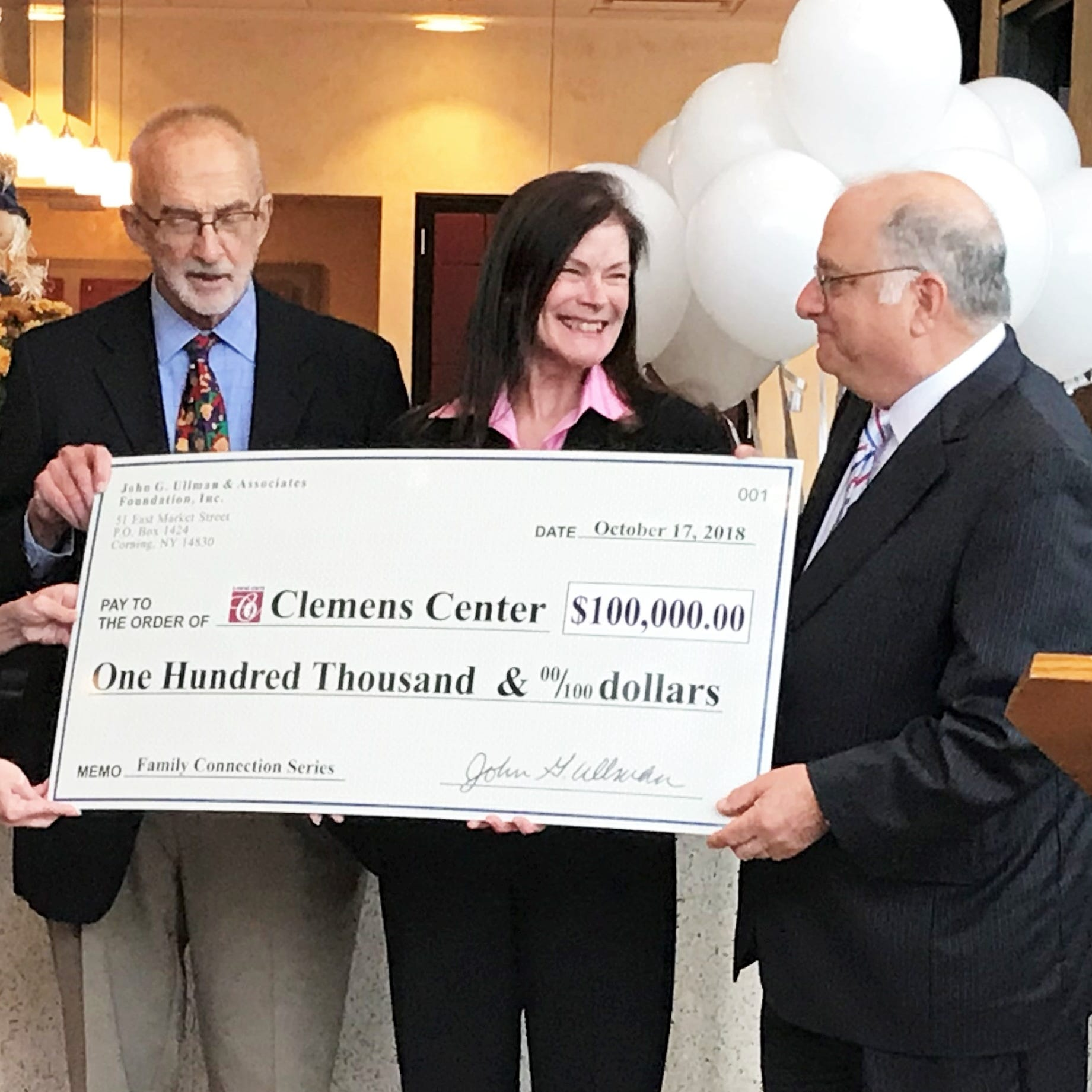 New Clemens Center program gets boost from Ullman Foundation