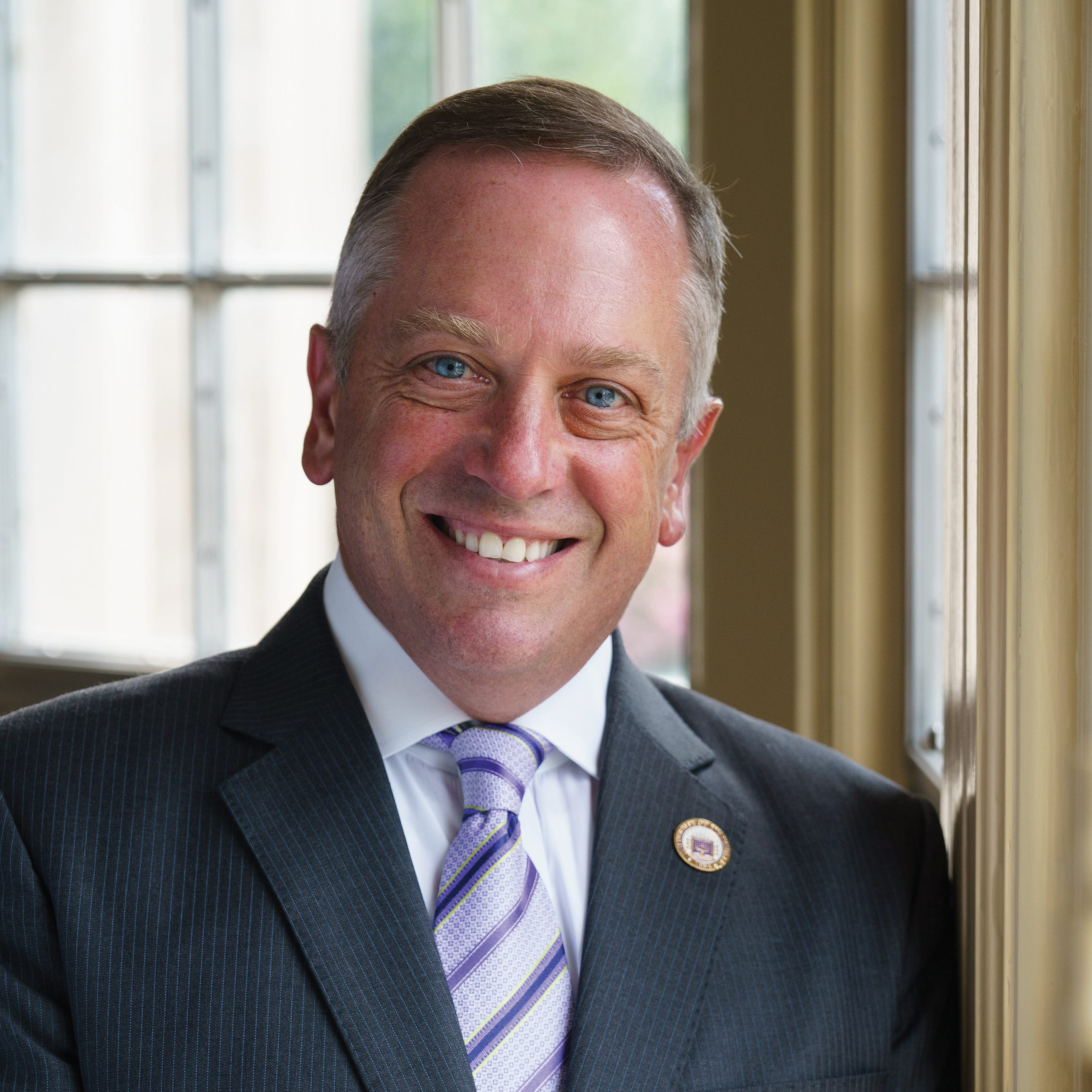 University of Evansville's 24th President, Christopher Pietruszkiewicz, sat down with the Courier & Press last week to talk his new role in leading the university.