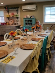 Denise Rapp caters to location, but also welcomes smaller groups to have a dining experience right inside her New Harmony kitchen.