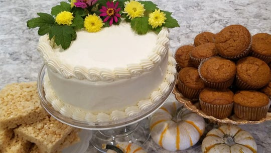 Denise Rapp is known for excellent pastry as well as catered meals.