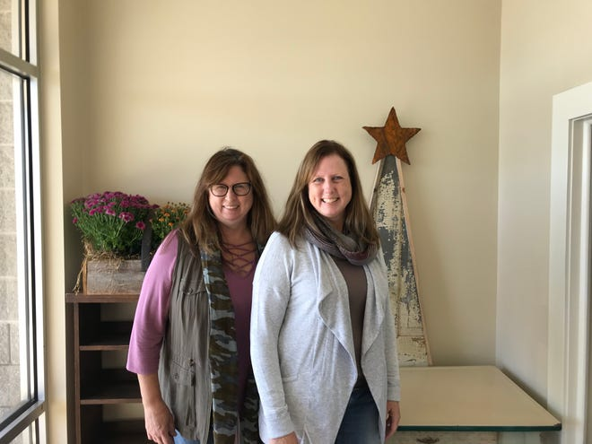 Sisters Chris Koepke and Cathy Spanbauer will open Fanna's Market & Eatery in November at 1211 Rickmeyer Drive, Fond du Lac.