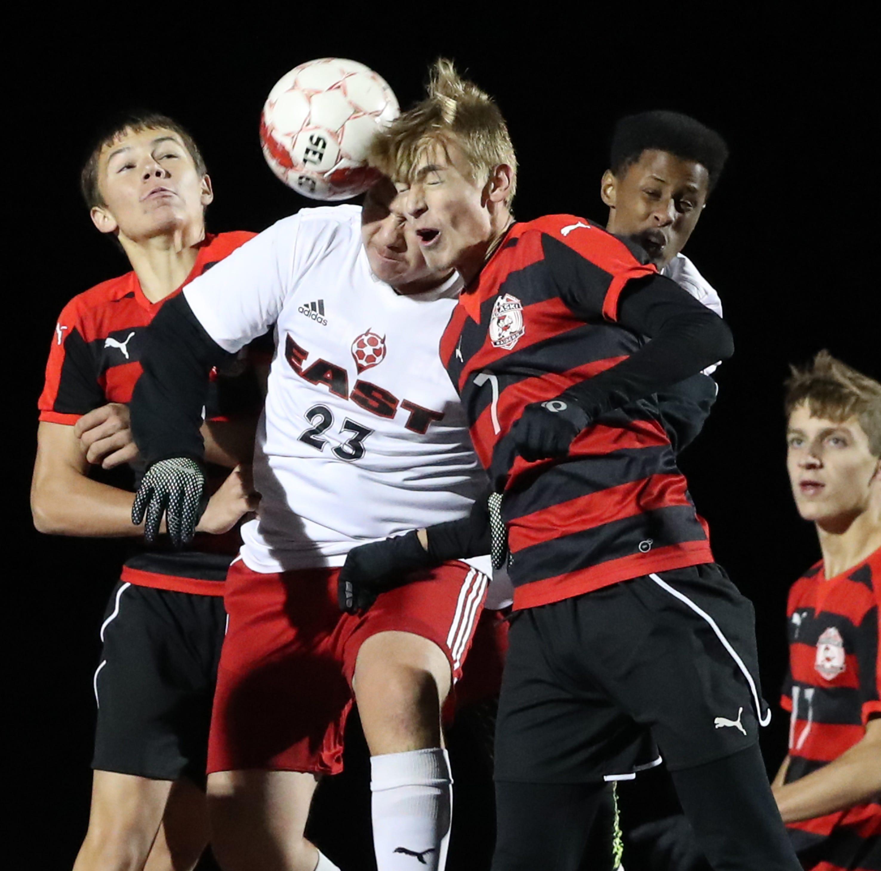 Pulaski hosts Green Bay East in WIAA regional soccer playoff