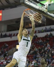 UWGB guard Sandy Cohen III was named to the Horizon League preseason first team on Wednesday.