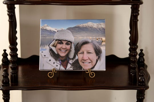 Ali Strother, left, in a recent photo from a bucket-list trip to Alaska with her mother, Jean Strother. When Ali was growing up, her parents loved to travel.
