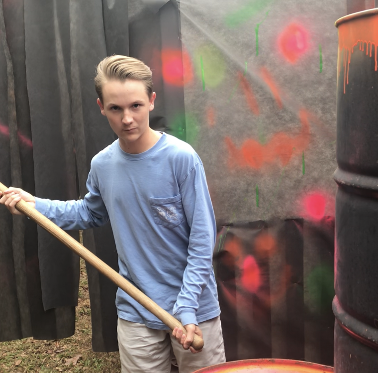 Easley 15-year-old scaring the daylights out of hundreds at his haunted attraction, Asylum