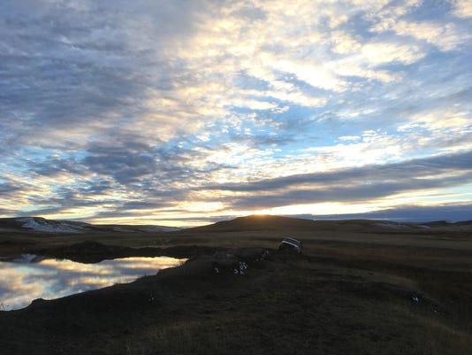 Prairie Pondering Sky