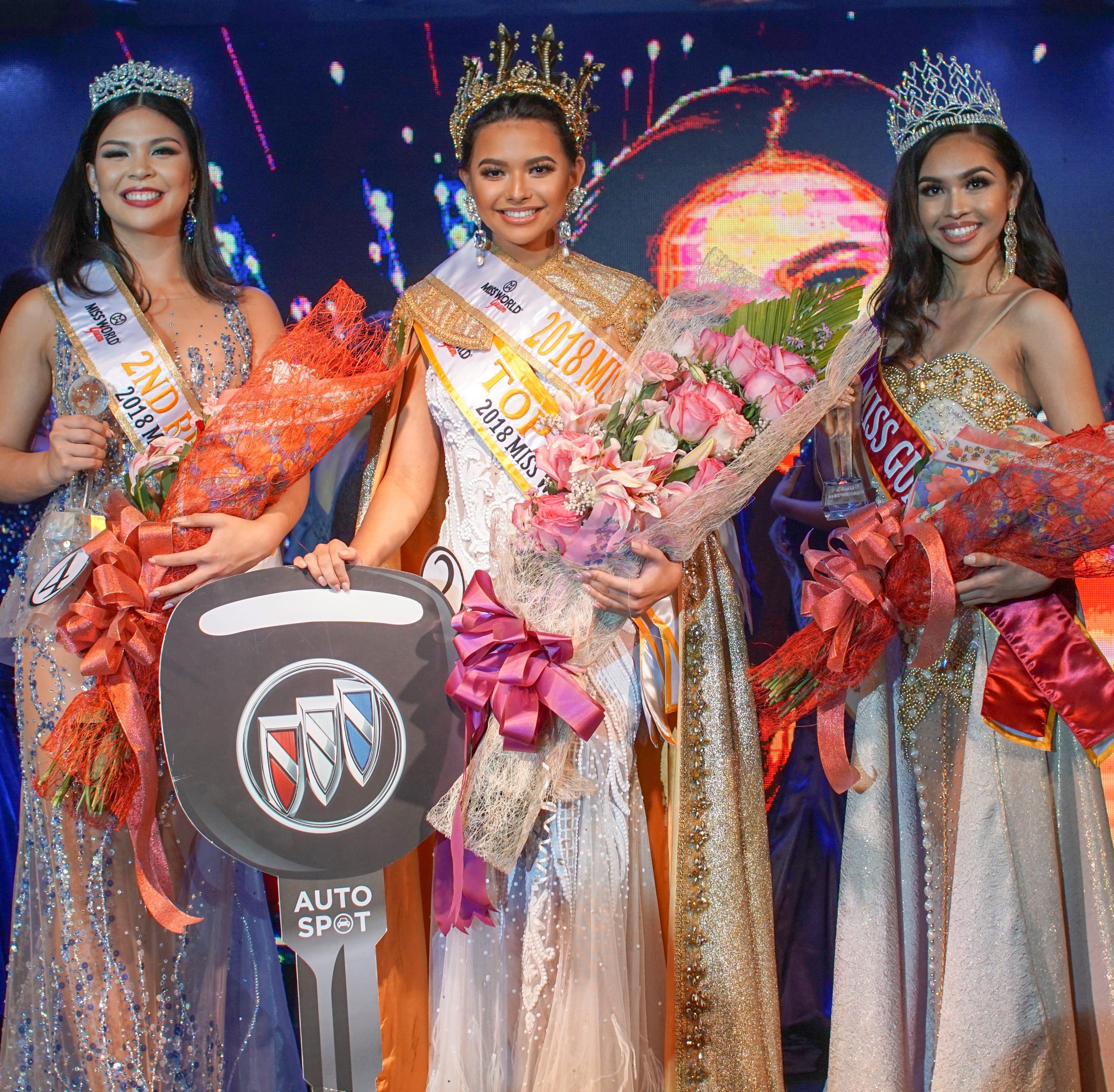 Gianna Sgambelluri crowned Miss Guam 2018