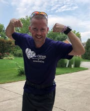 Dan Mudra is training for the Indianapolis Monumental Marathon (Nov. 3) to raise money for the Cure Sanfilippo Foundation.