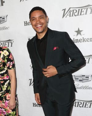 Trevor Noah attends Variety and Women in Film's 2018 Pre-Emmy Celebration at Cecconi's on September 15, 2018 in West Hollywood, California. He'll come to Indianapolis in 2019.
