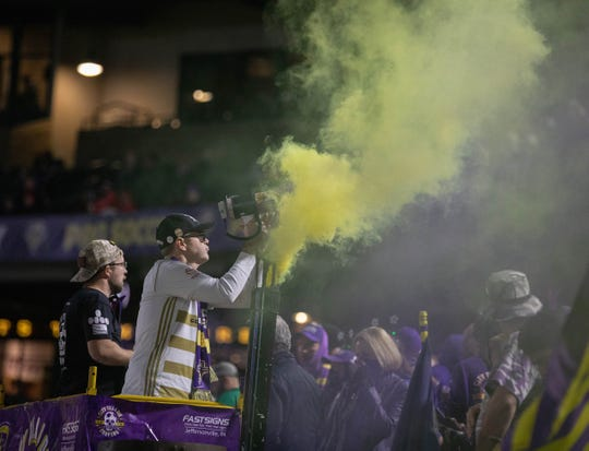 The Louisville Coppers and Brickyard Battalion are two of the most ardent supporters groups in the USL.