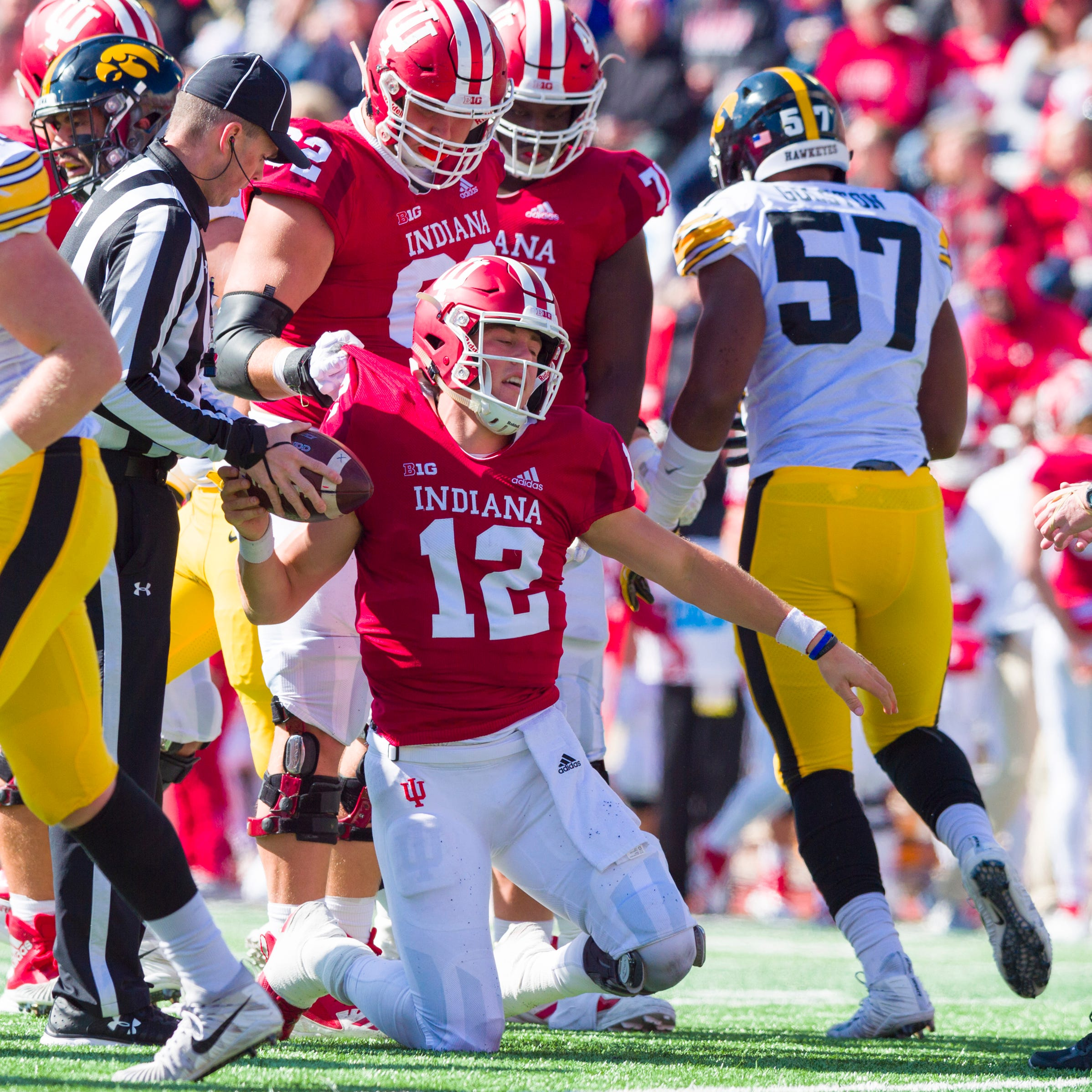 IU football's player-led meeting Monday started coming together moments after loss to Iowa