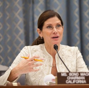 Here's everything we know about Mary Bono and her abrupt departure from USA Gymnastics