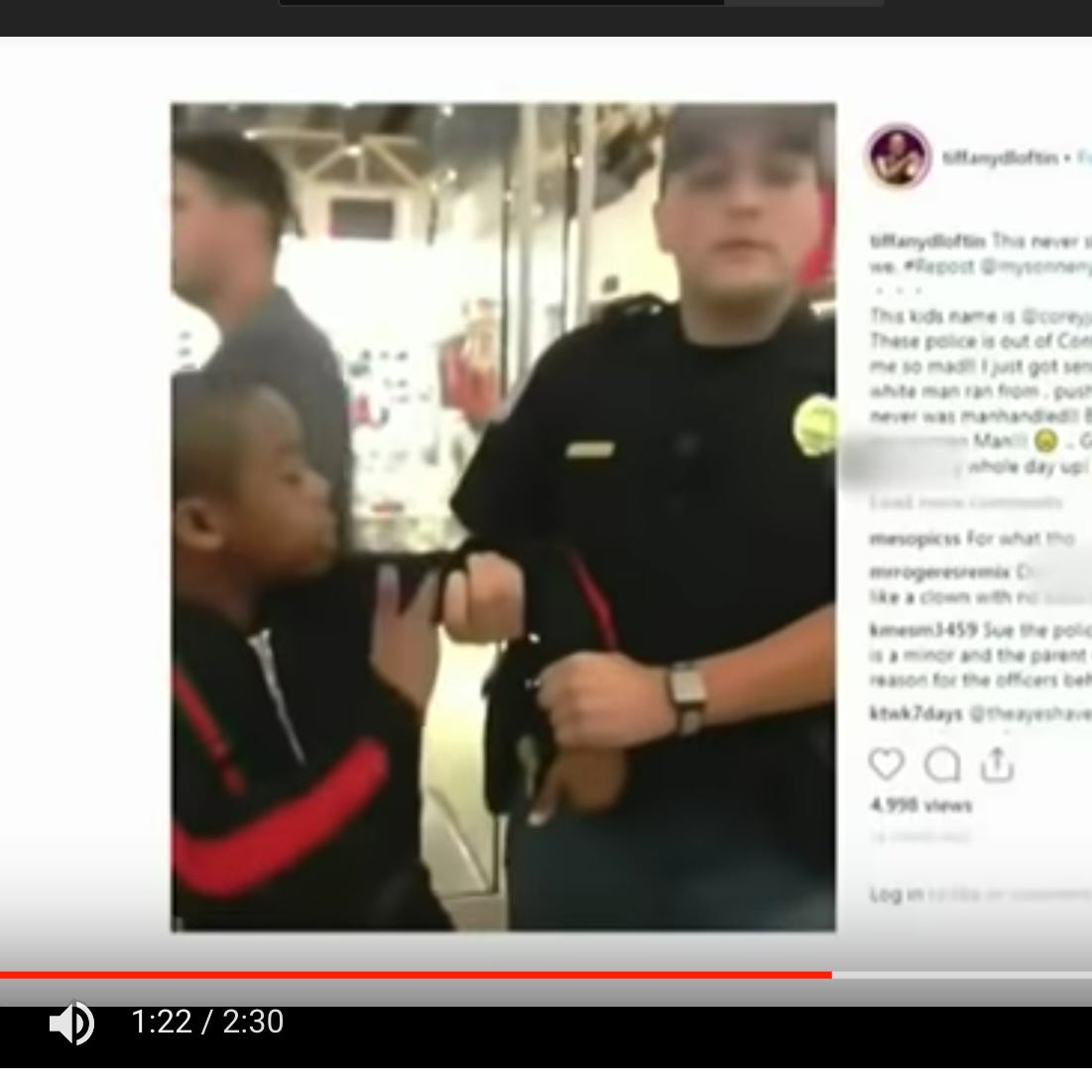 Georgia police investigating arrest of black 12-year-old Mississippi boy by white officer