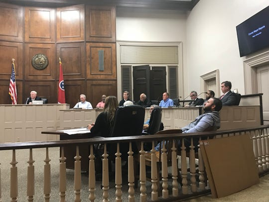 The Hardeman County Commission discusses the new zoning law for Royal Oak. The the ordinance passed 10-6.