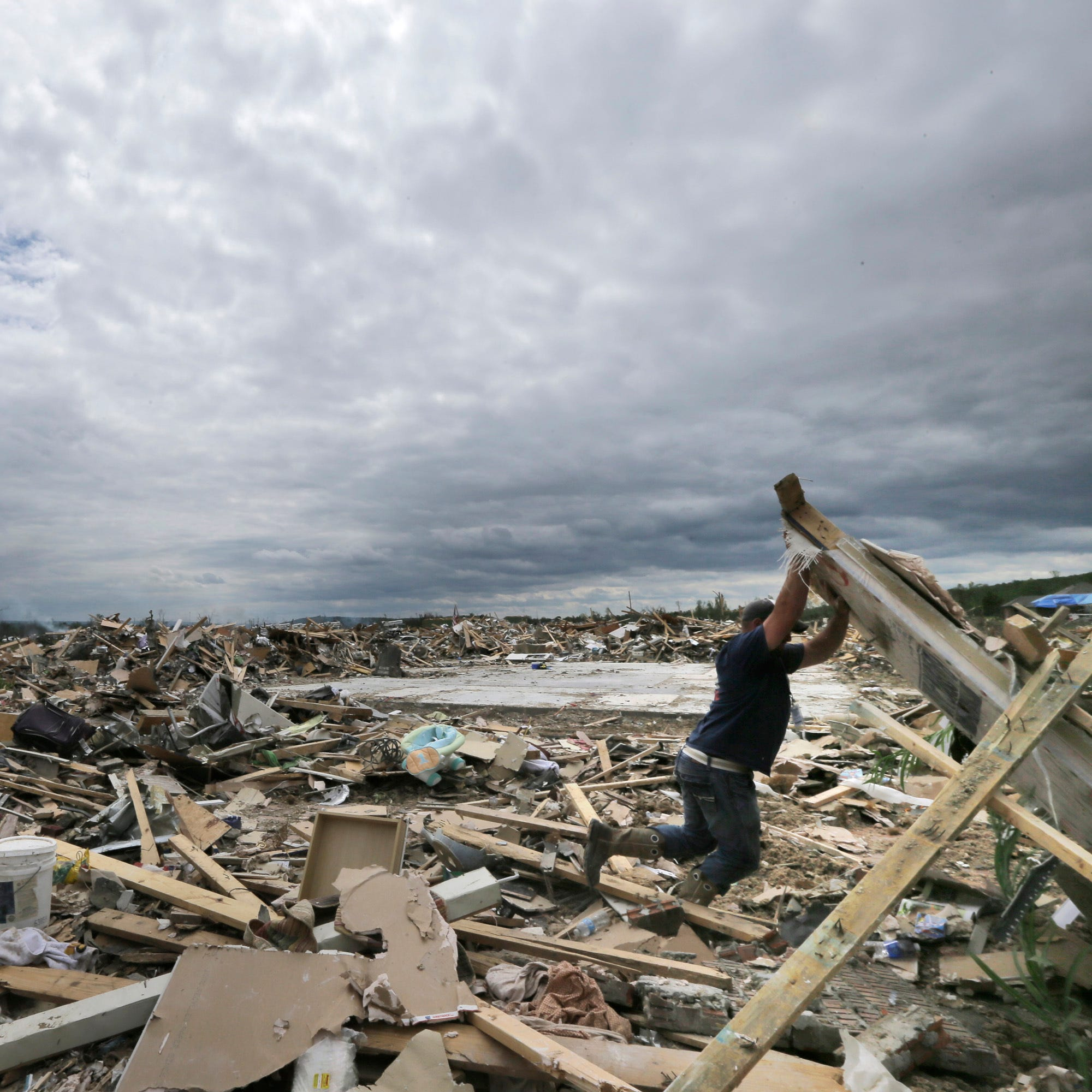 More tornadoes are spinning up in Tennessee and states east of the Mississippi