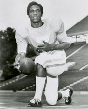 Tennessee quarterback Condredge Holloway poses for an official team photo in 1973.