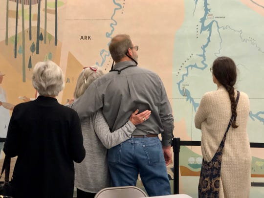 A mural painted by modernist artist Robert Birdwell, a member of the Knoxville 7, has been restored at Norris Dam.