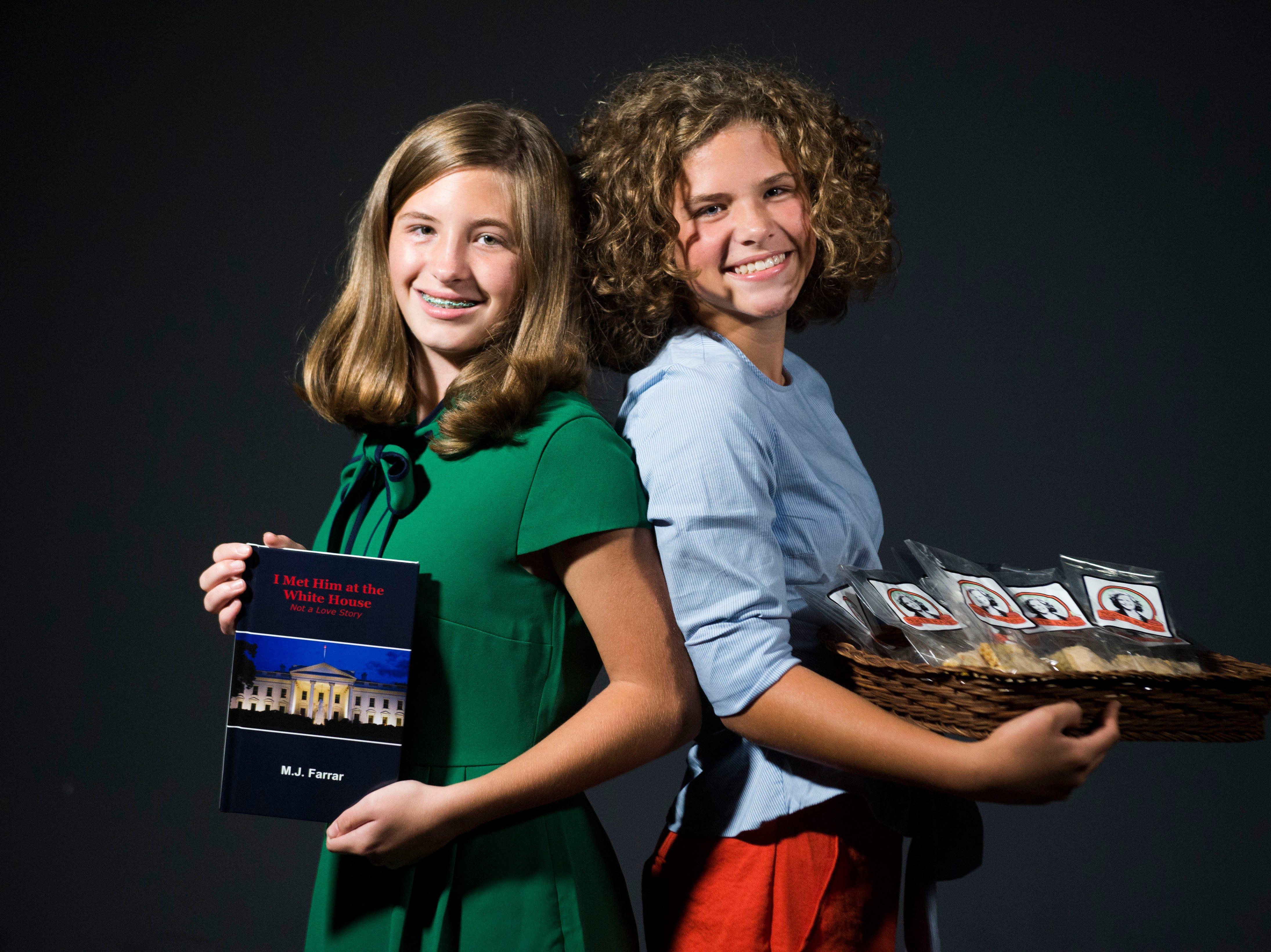 20 under 20 Macye Jane Farrar and Bertie Grace Farrar.