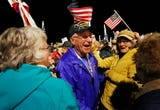 The final Honor Flight carrying veterans on a trip to the nation's capitol returns Tuesday, October 16, 2018, to Purdue Airport.