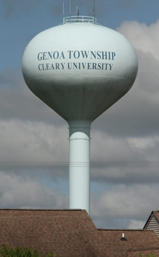 Genoa Water Tower