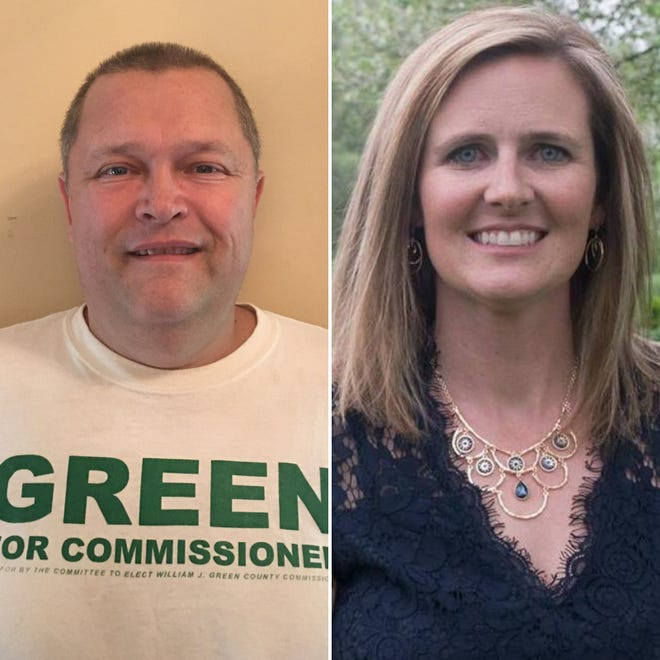 Republican William Green and Democrat Jennifer Garcia are the candidates for the District 2 seat on the Livingston County Board of Commissioners.