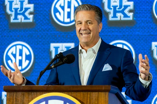 In addition to the $1 million he received for a docu-series, John Calipari made $335,000 in outside income during 2017-18.