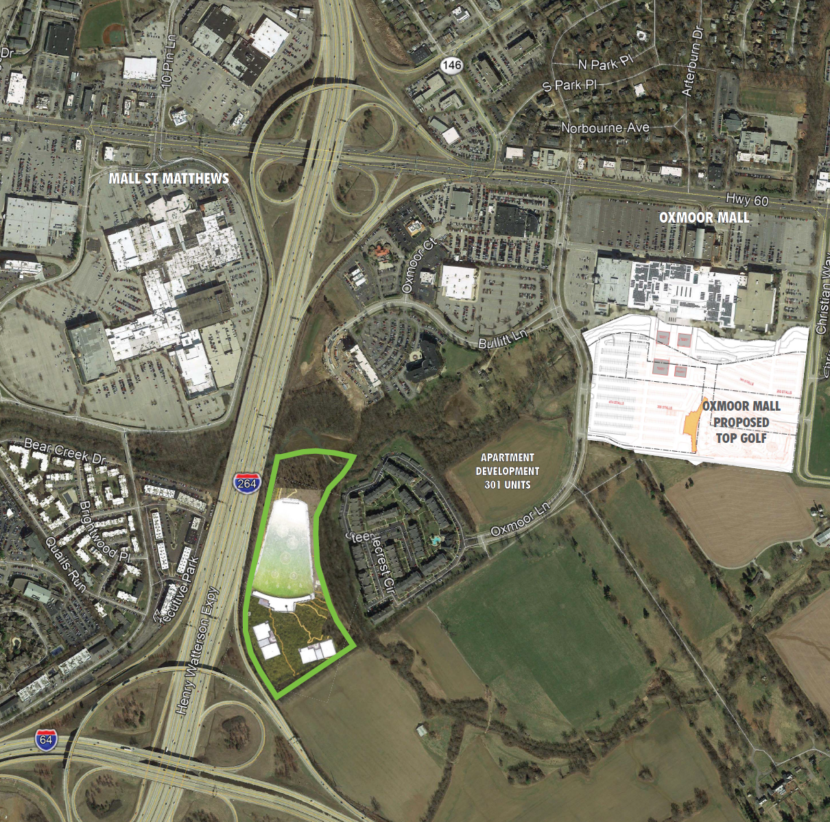 Oxmoor neighbors long opposed to Topgolf propose 11th-hour compromise