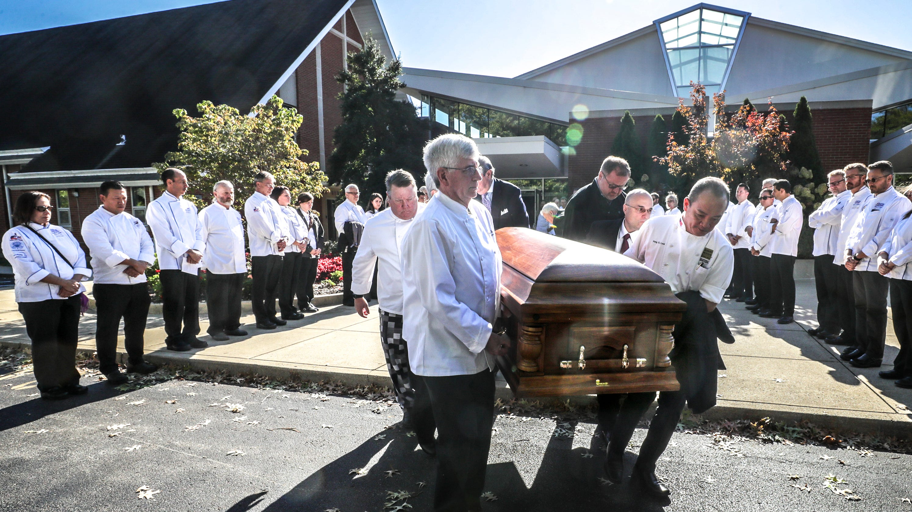 Hundreds attend funeral for Louisville chef Dean Corbett