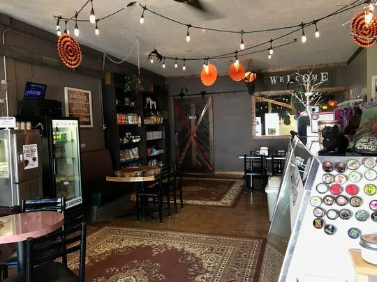 The inside of Oh Mi Organics in St. Johns, MI.