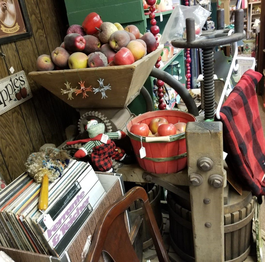 Cider Mill Antique Shop a countryside treasure chest rich with memories