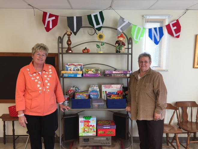 Cathy McGlone, left, and Jacki Barnett have teamed up to open Bridges for Better Living. They will help with parental mentoring, supervised visitation and advice for grandparents raising their grandchildren, among other services.