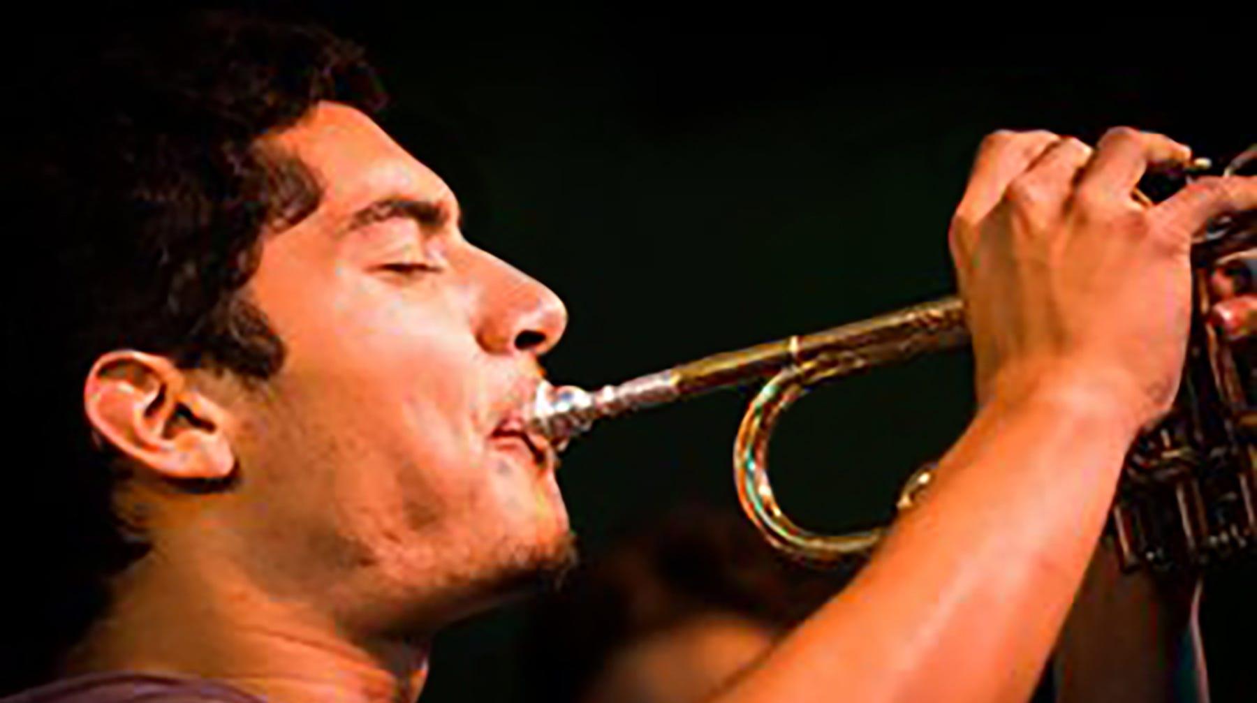 Latin jazz trumpeter Fernando Ferrarone.