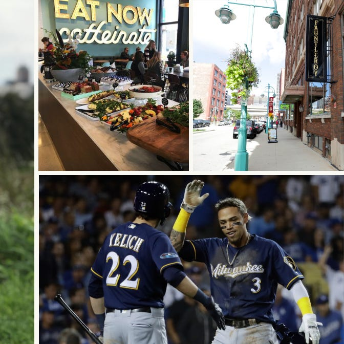 All the Brewers mania, a rock 'n' roll French restaurant review and 'Making a Murderer' Season 2