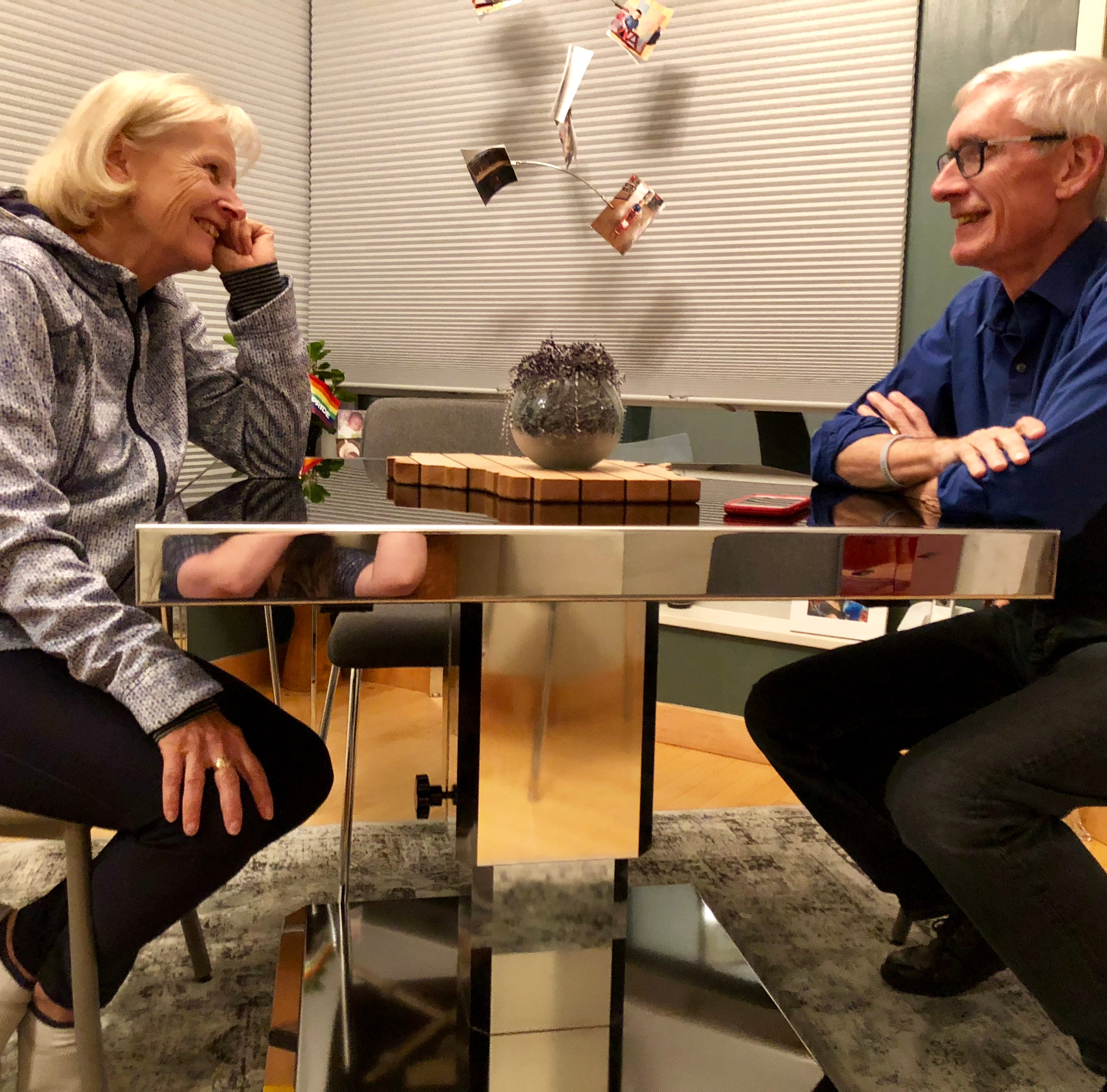 Tony Evers seeks a new life a decade after nearly losing his own to cancer