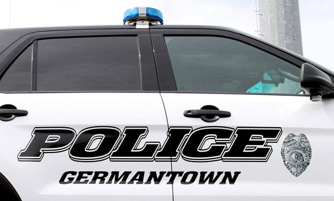 Germantown Police squad car