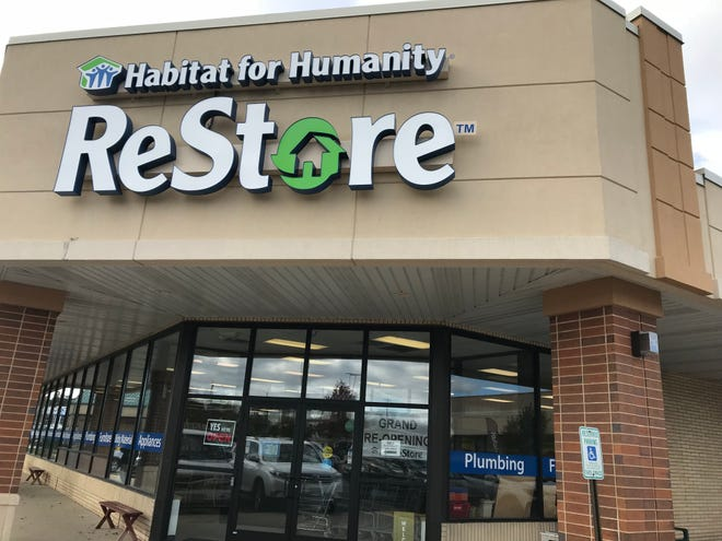 Habitat for Humanity of Waukesha County has doubled the size of its ReStore in the Westbrook Shopping Center. The store held its grand reopening on Oct. 17.
