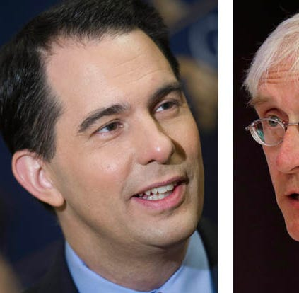 The tight race for Wisconsin governor may be decided not by how many people vote but who votes
