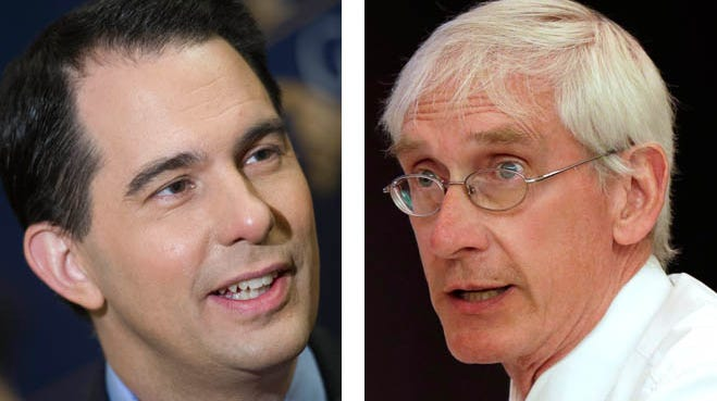 The tight race for Wisconsin governor will be decided not by how many people vote but who votes