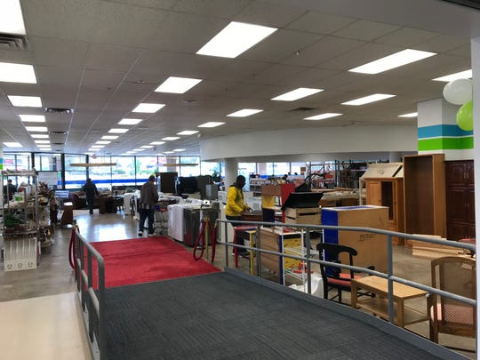The old space in the Waukesha ReStore has also been remodeled, allowing more donated items to be merchandised like the typical retail home improvement store. Store officials say the effort makes it easier for customers to find what they are looking for.