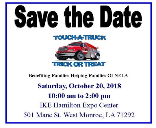 Touch a Truck is Saturday in West Monroe.