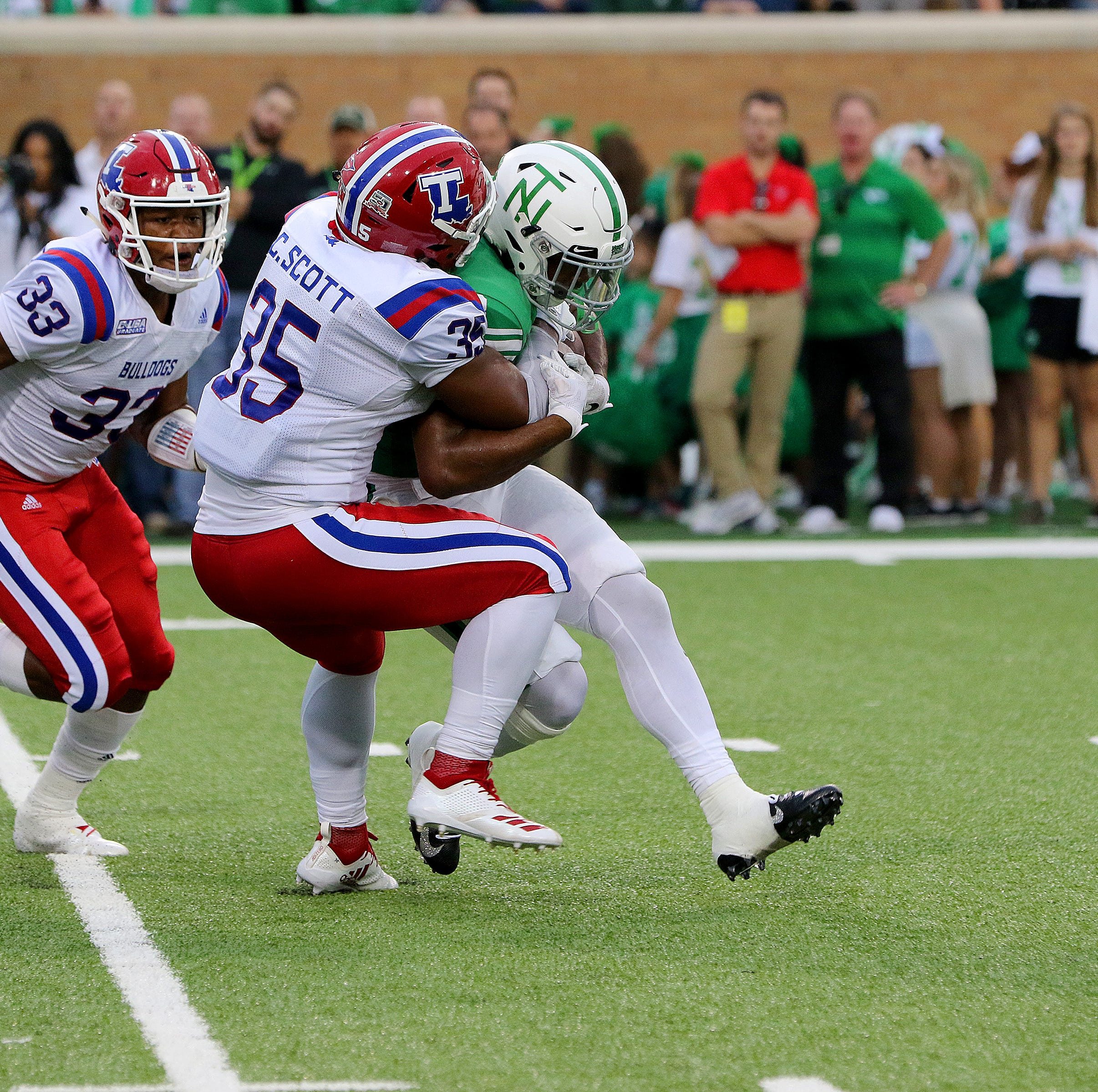 Louisiana Tech finds 'thumper' on defense in Collin Scott