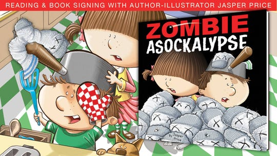 Zombie Asockalypse will be at Ouachita Public Library.