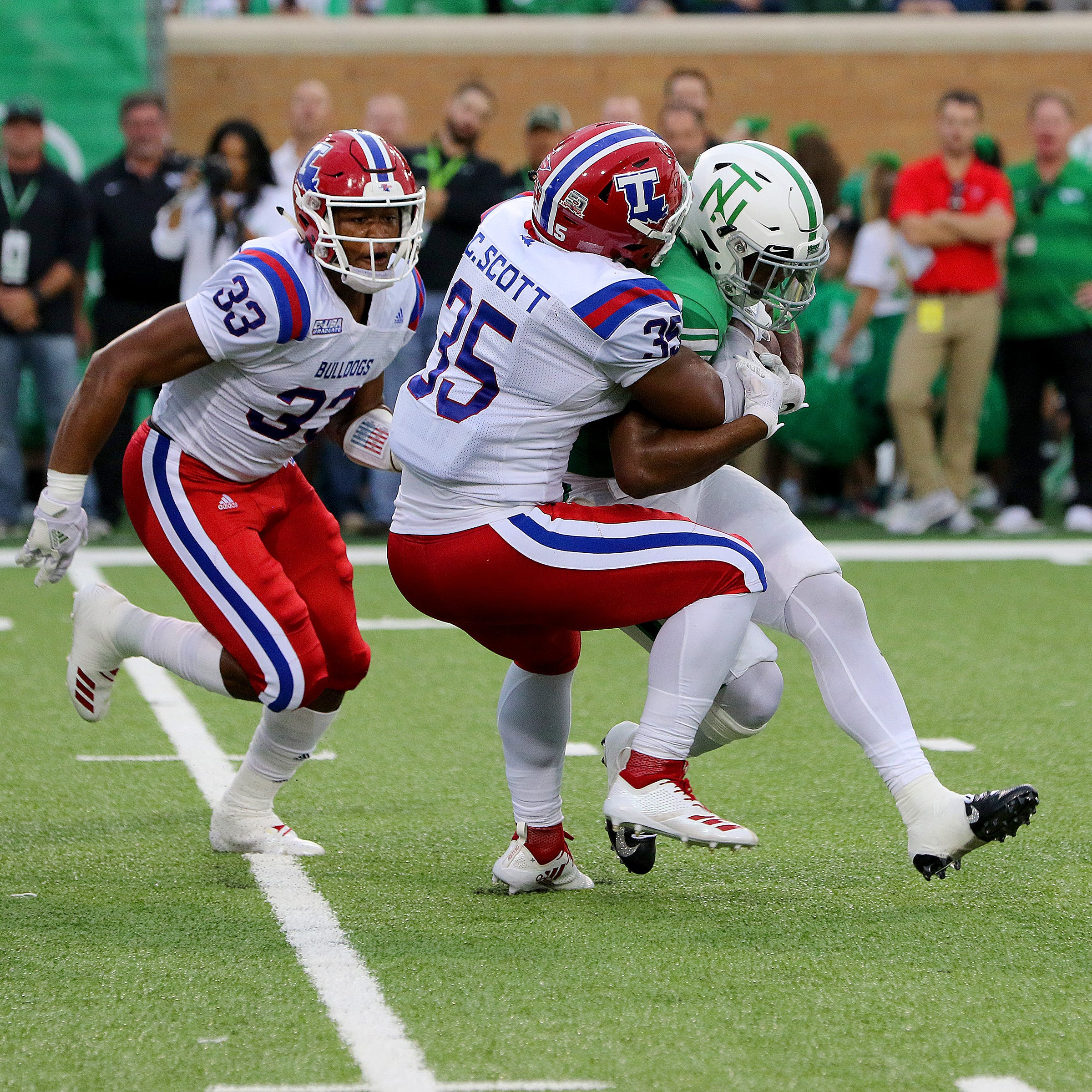 LA Tech's 'Thumper': How Collin Scott emerged to fill big role, lead in tackles